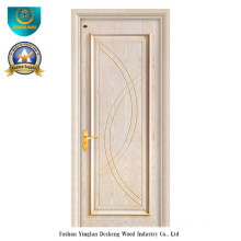 Puerta de madera compuesta sólida del estilo moderno para el interior (ds-070)