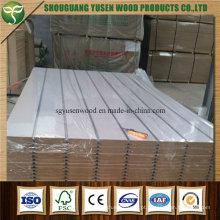 Placa do MDF da inserção de alumínio da parede da veneziana da China
