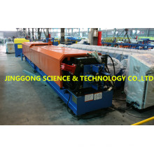 Round Gutter Roll Forming Machine For Water Pipe/down spout forming machine with pipe curving machine