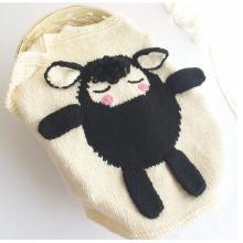 Knitting Baby Newborn Cartoon Blanket lovely pattern