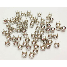 Dome Nailheads 4 Prongs, Pernera Larga Nailheads 4mm