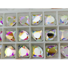 Flat Back Glass Beads for Crystal Jewelry