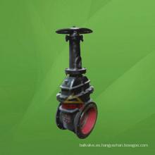 Válvula de compuerta de gas del carbón del disco doble de la cuña del vástago de levantamiento (GAZ42W / GAZ542W / GA942W)