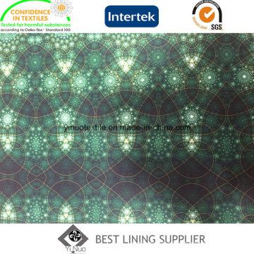100 Pes Fashion Cloth Lining Fabric Printed Lining Patterns