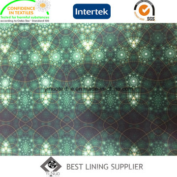 100 Pes Fashion Cloth Lining Fabric Printed Lining Patterns