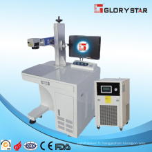 Machine de marquage en efficacité plastique Marqueur laser UV