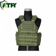Veste à prova de balas feita sob encomenda tática da armadura do corpo da veste NIJ IIIA da prova da bala de Kevlar para forças armadas