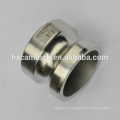Stainless steel male female camlock connectors