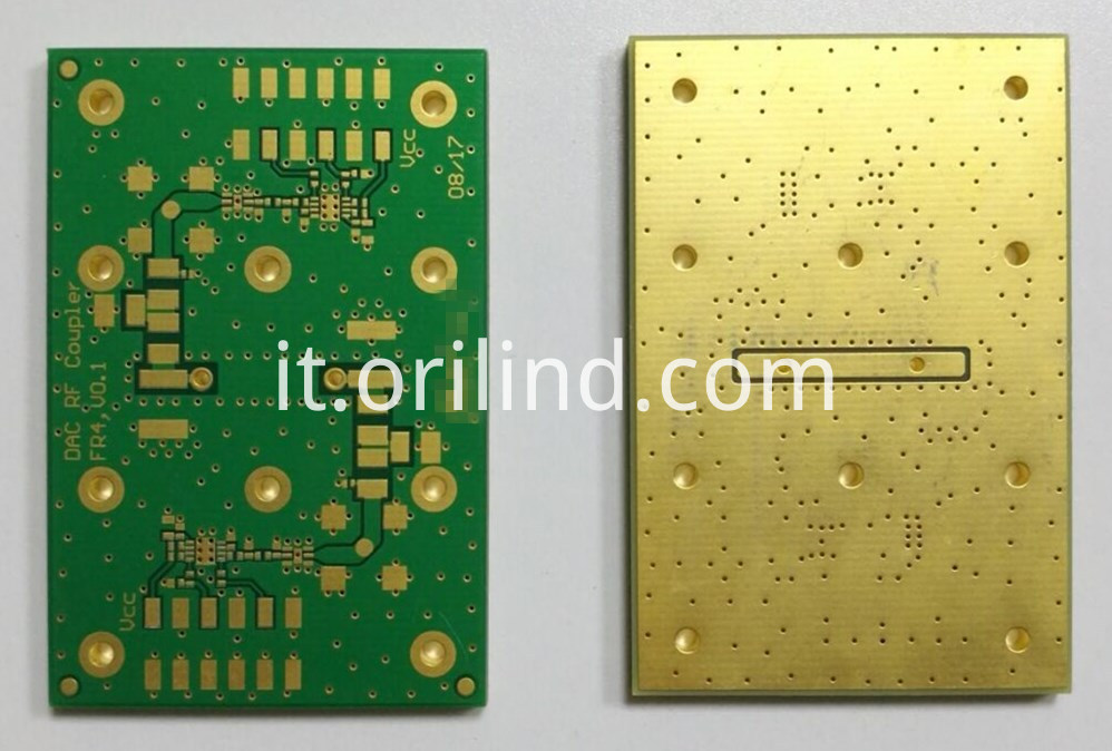 Thick copper circuit board