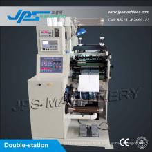 Máquina de corte automática de duas estações com função de corte