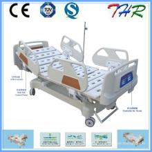 Lit d'hôpital électrique à 5 fonctions ICU (THR-EB5201)