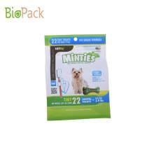 O plástico biodegradável levanta-se o saco dos alimentos para animais de estimação do malote com impressão Customerized