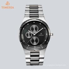 Nuevo reloj de cuarzo de acero inoxidable de los hombres de la manera 72648