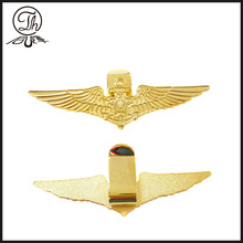 Bird wing gold magnetic golf ball marker
