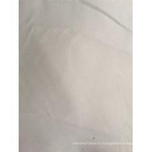 100% Polyester Tissu en satin brossé ultra bon marché et fin