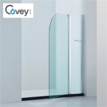 Curved Corner Bathtub Shower Screen with SGCC/Ce/CCC (A-CVP010)