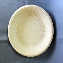 Plato rápido para pastel de almidón de maíz biodegradable de 8 pulgadas
