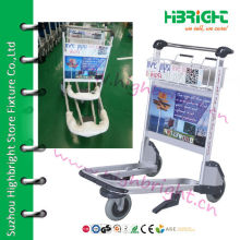 6063 высокопрочный алюминиевый сплав пассажирский багаж тележки для международного аэропорта
