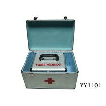 2-en-1 caja de primeros auxilios de aluminio puede ahorrar coste de la carga
