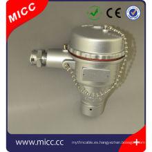 Cabezales de termopar CT6 EX-PROOF / cabeza de termopar a prueba de explosión de aluminio