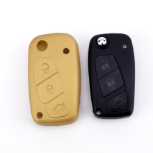OEM Silicone Key Cover Passar till Fiat