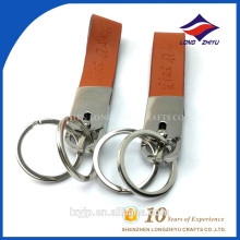 Blank Leather Key Chain Bulk Genuine Leather Keychains