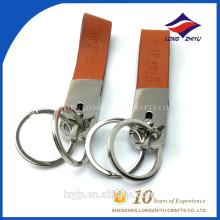Blank Leather Key Chain Bulk Genuine Leather Keychains