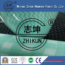 Tecido Não Tecido Spunlace com Três Cores (38g-100g)