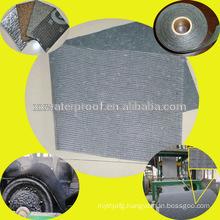 Composite substrate mat for bitumen waterproof membrane