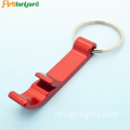 Aluminium Customized Bottle Opener Keychain