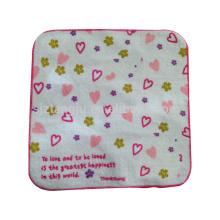 China wholesale children square towel, full printed microfiber towel, full printed cartoon towel