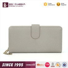 HEC neueste entworfene weiße Farbe Damen Fancy Clutch Geldbörse Hand Brieftasche