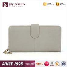 HEC dernière conception couleur blanche dames fantaisie embrayage bourse portefeuille à main