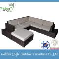 Schönes preiswertes L-Form-Sofa im Freien