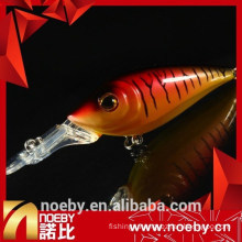 NOEBY excellent quality hard minnow lures with VMC hooks