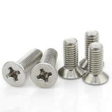 Stainless countersunk head flat screws
