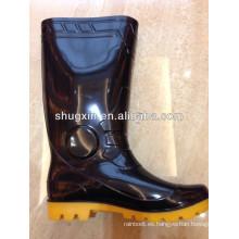 botas de lluvia a prueba de ácidos alta del PVC para los hombres