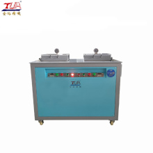 Semi-auto liquid silicone vacuum machine with 2 stations