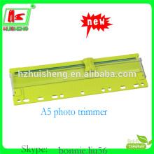 Cortador de plástico de guilhotina de corte de papel pequeno bonito
