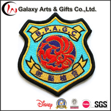 New Product Custom Garment Embroidered Large Jacket Vest Patches