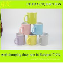 Индивидуальный дизайн Рекламные керамические чашки для кофе