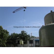 Réservoir de stockage de liquides corrosifs en fibre de verre