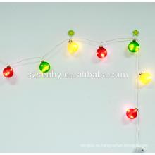 luces decorativas llevadas baratas mini de la secuencia del alambre de cobre