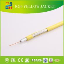 Outdoor wasserdichte PVC-Jacke Gelee gefüllte Koaxialkabel RG6