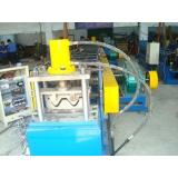 5 - 10m / min forming speed 11KW hydraulic power guardrail