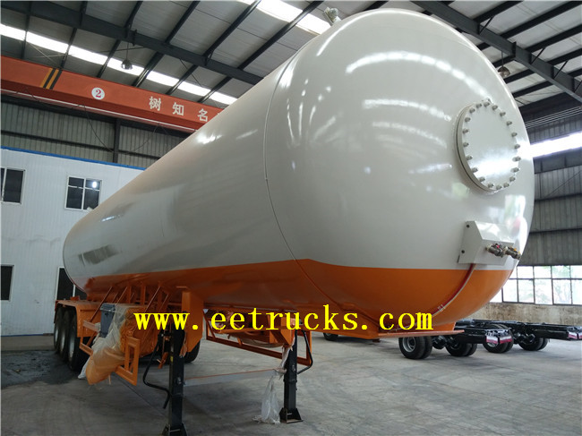57 CBM LPG Trailer Transport Tanks