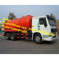Camion d'aspiration d'eaux d'égout de capacité de réservoir de HOWO RHD 16m3