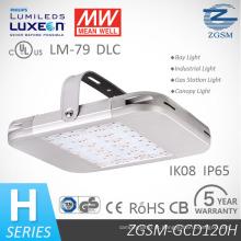 SAA de Dlc UL listado 120W LED Lâmpada Industrial para a iluminação do armazém com 5 anos de garantia