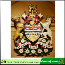 10-Year-Experience Emblem Facotry Coat of Arms