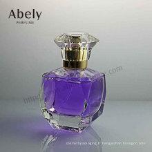 Bouteille en verre de parfum de concepteur de 50ml avec le cristal de luxe